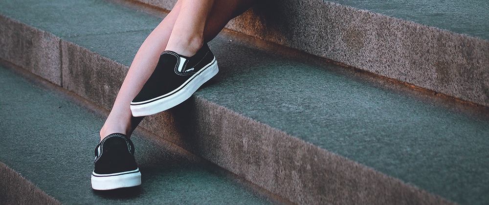 slip on sko til kvinder