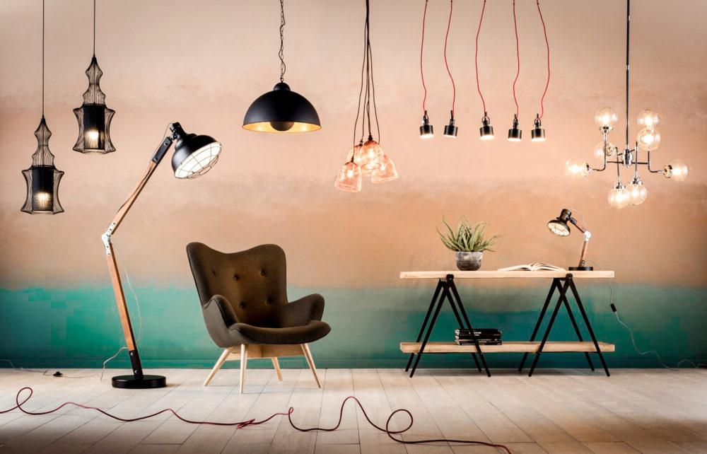 Fra mega Den store samling - 30 anderledes lamper til stuen KN-83