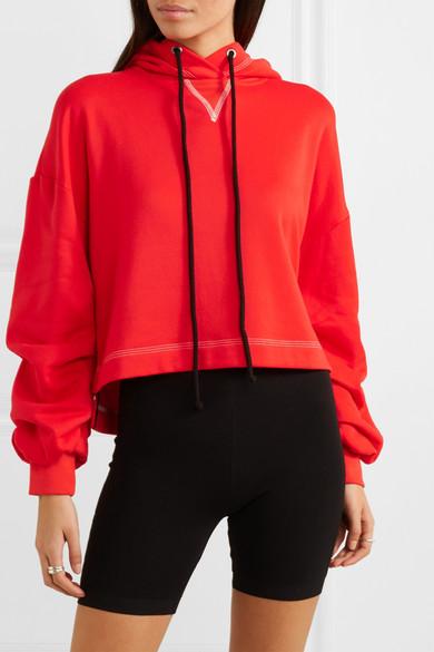 rød hættetrøje til kvinder
