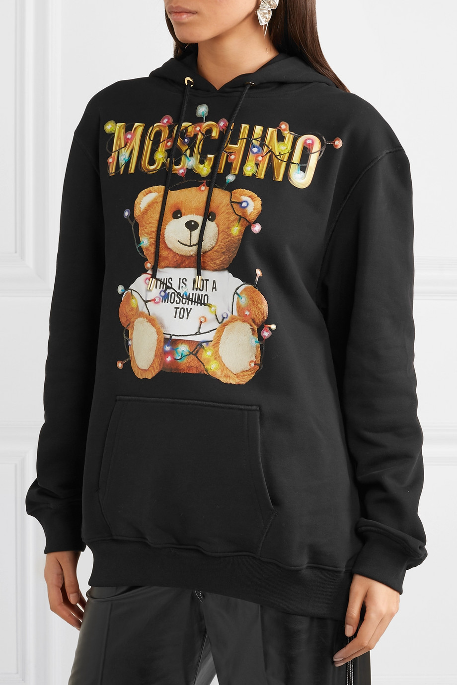 moschino hættetrøjer til kvinder