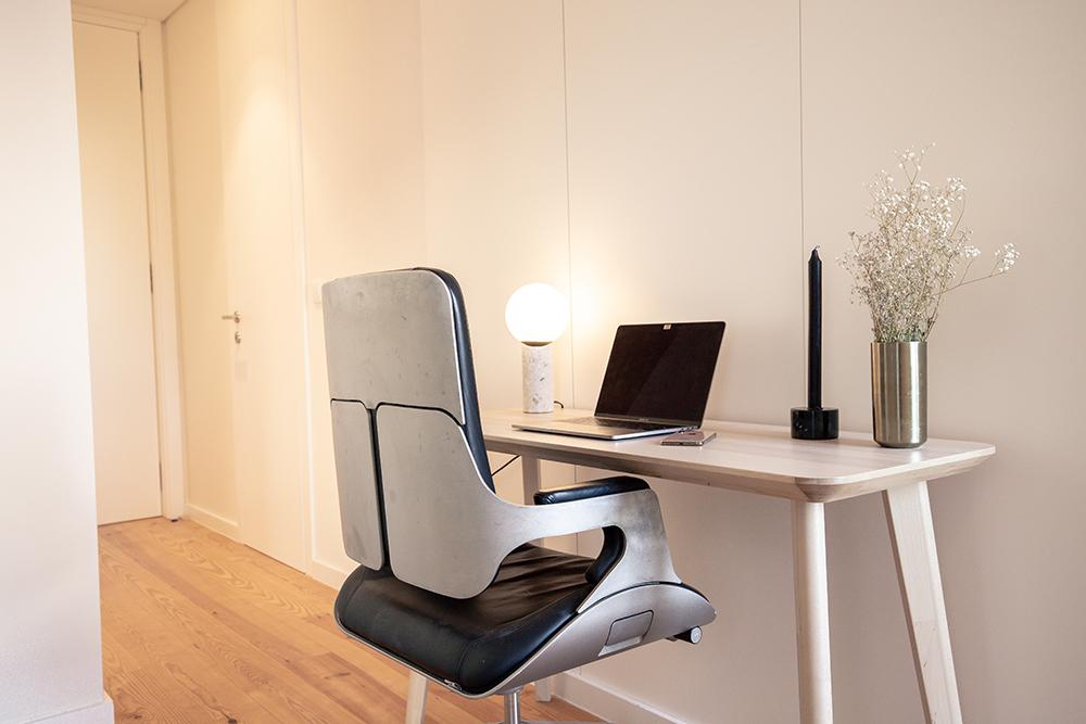 indretning af lille kontor