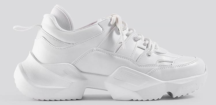 Billige hvide sneakers til kvinder