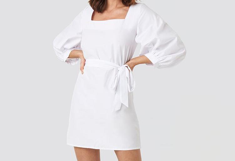 Elegant Sommerkjole med klassiske snit