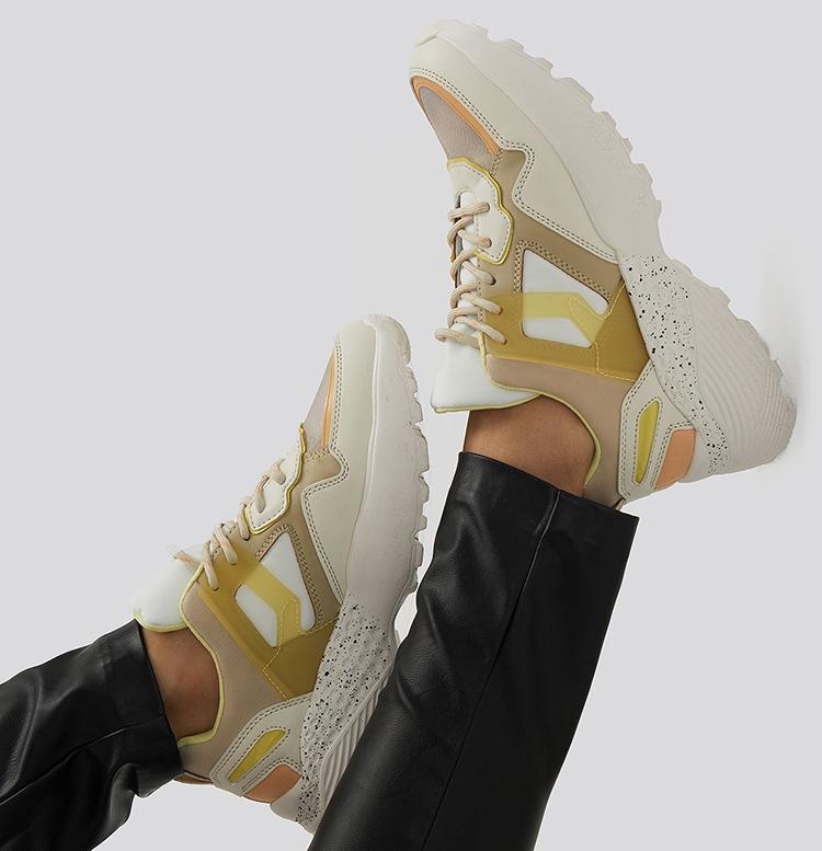 Farverige sneakers til kvinder