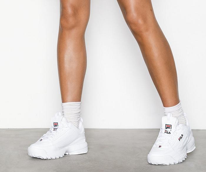 Flotte hvide sneakers
