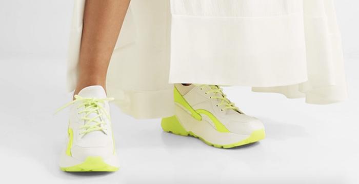 Klassiske sneakers i nye farver