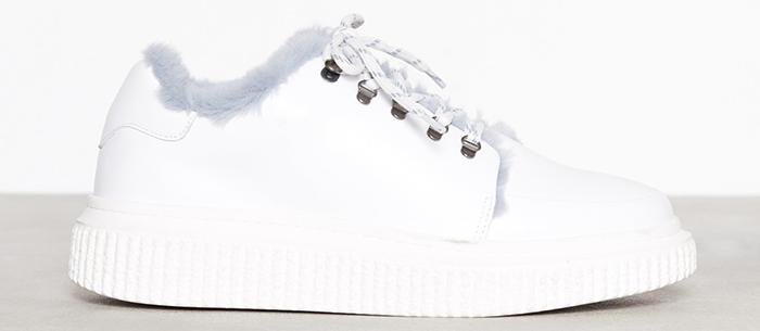 Plyssede sneakers