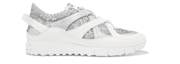 Jimmy choo Sneaker der glimter