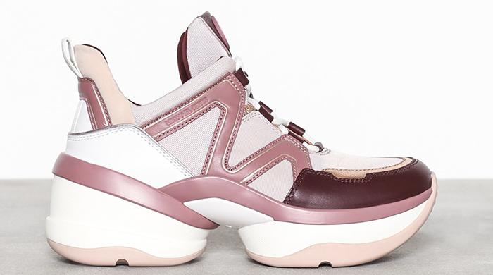 Sneakers i søde farver