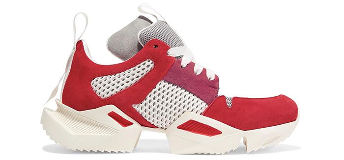 Sneakers i smukke farver
