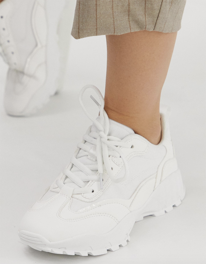Stilrene sneakers til kvinde
