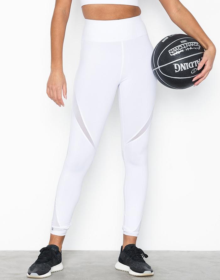 hvide træningsbukser til kvinder