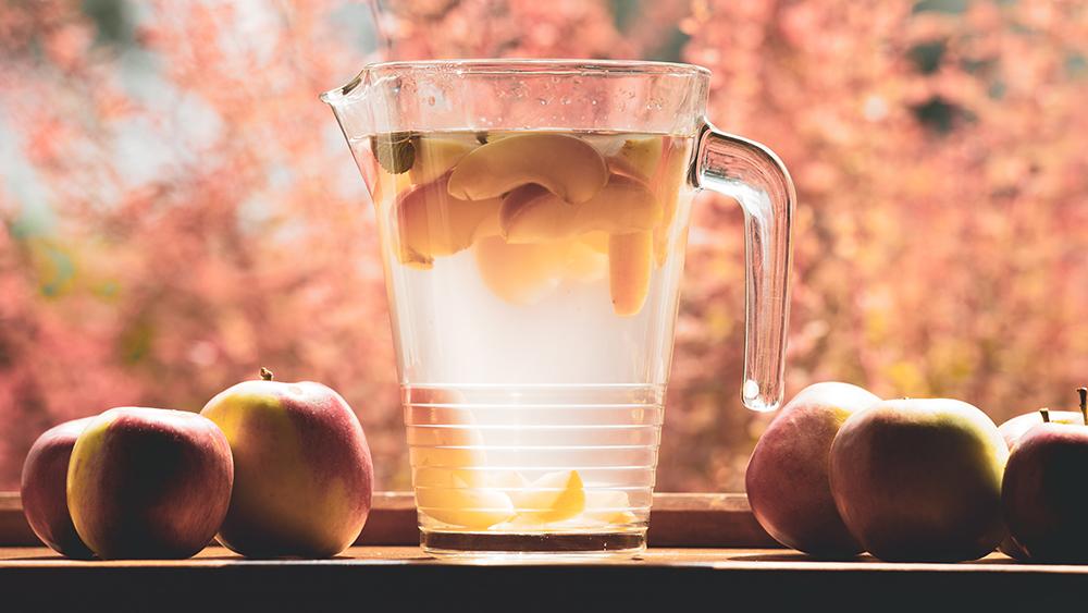 drik æblecidereddike til huden