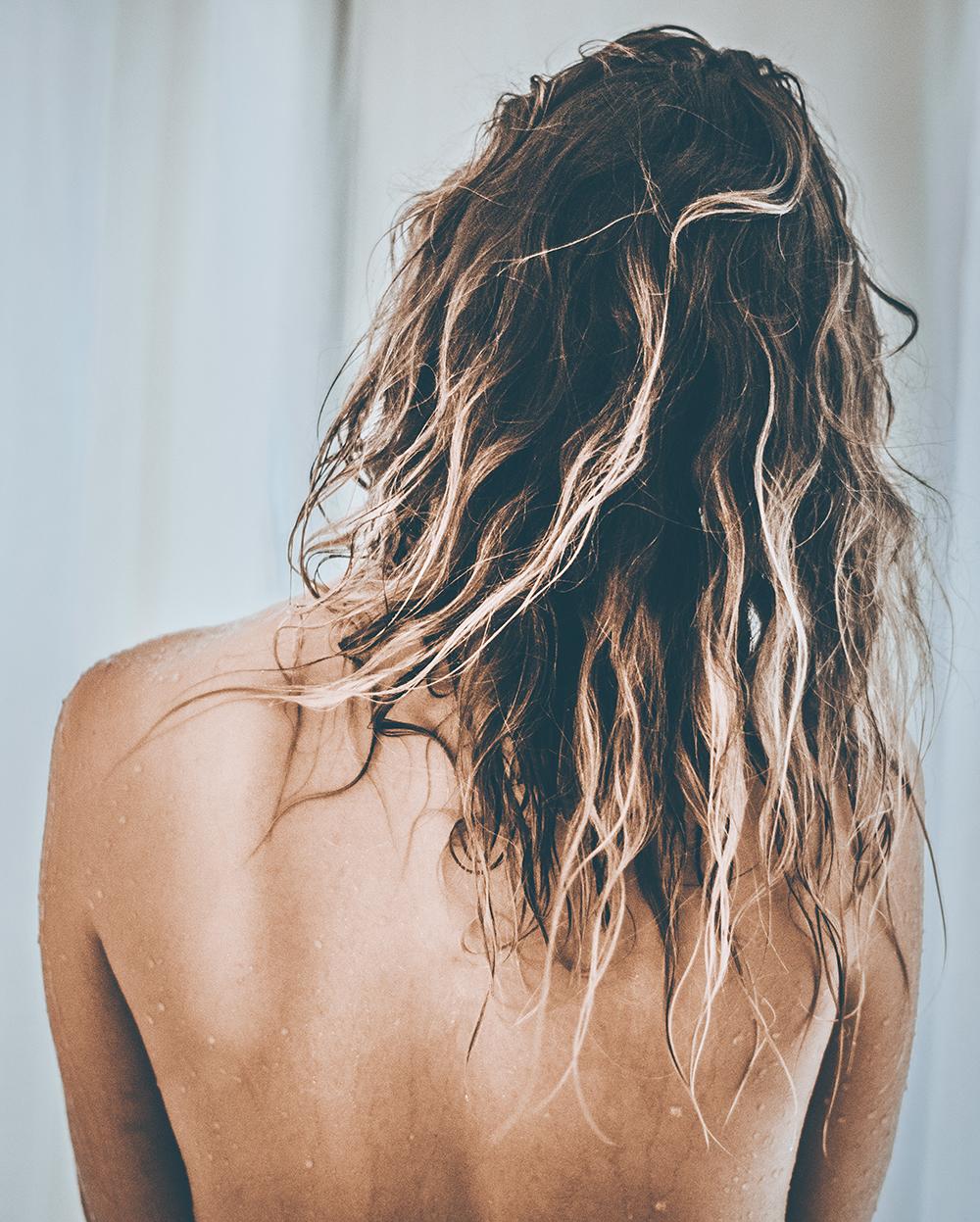 pleje af krøllet hår