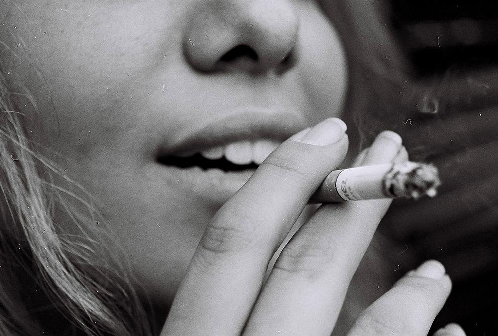 rygning skaber håret