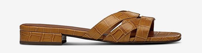Kvalitetspræget slip on sandaler til kvinder