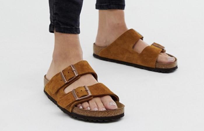 Lækre sandaler med tyk sål