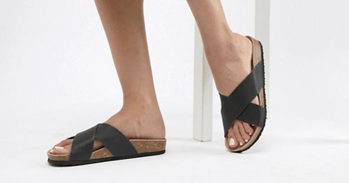 sandaler med god sål