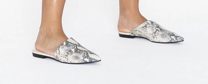 lukkede sandaler til kvinder
