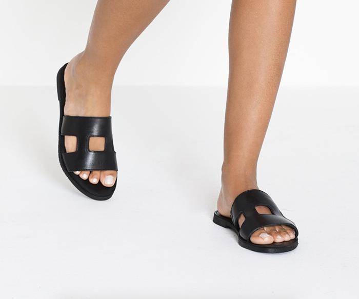 klassiske sandaler til kvinder
