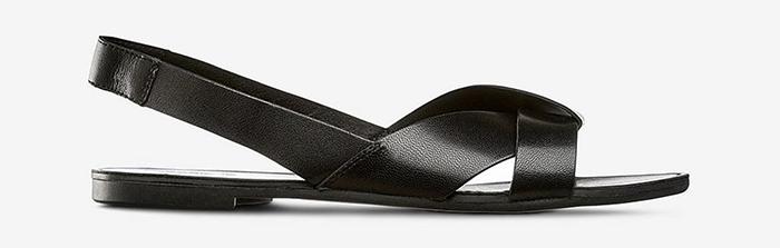 Minimalistiske sandaler til kvinder