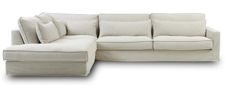 Blød familie sofa i lækker kvalitet