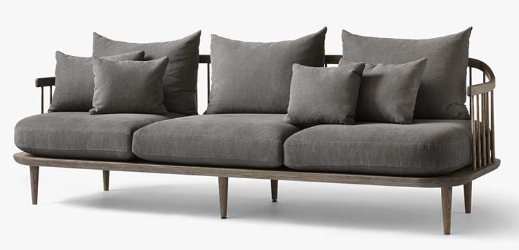 Kunstnerisk designer sofa i naturens navn