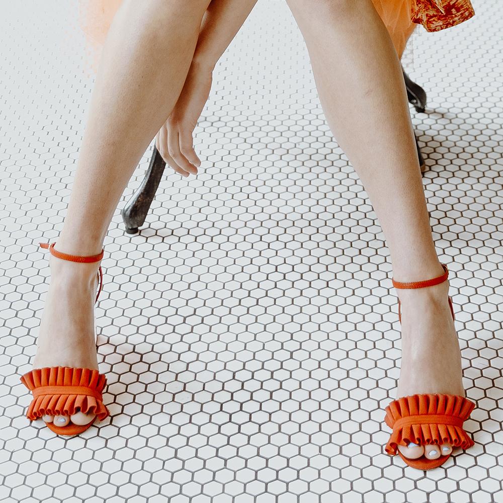 højhælede sandaler til kvinder