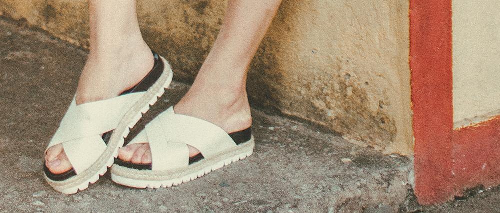 slip on sandaler til kvinder