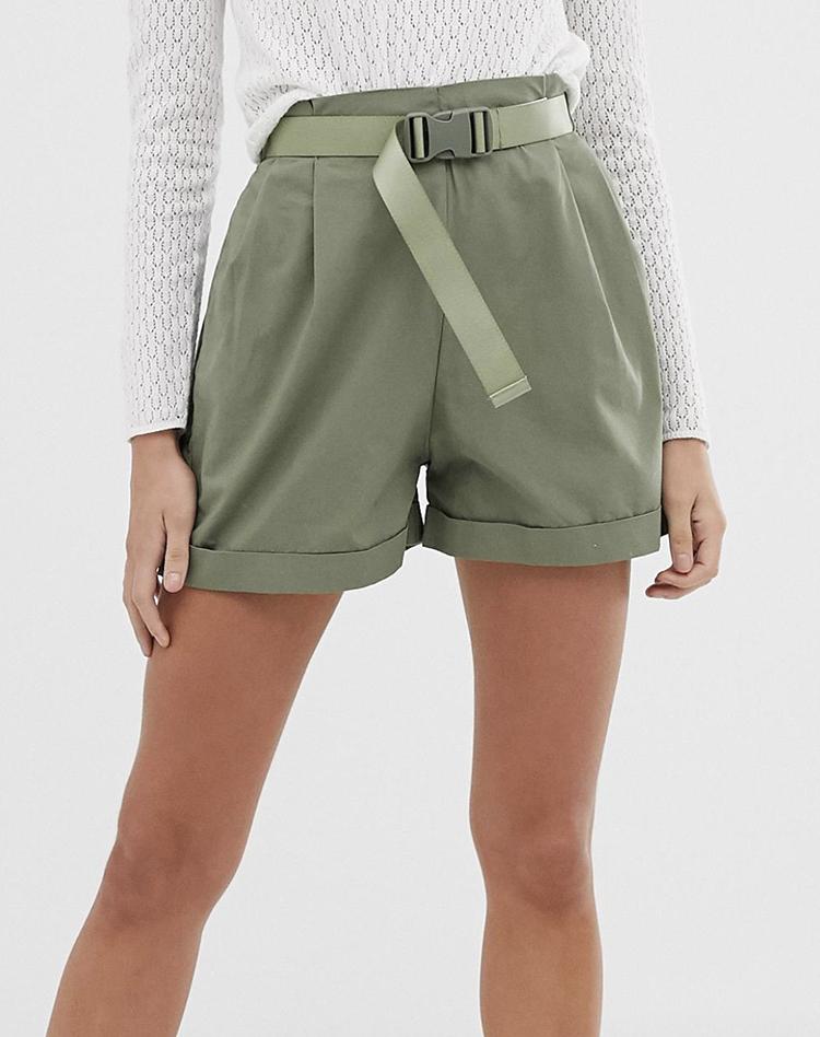 Army shorts i lækkert design