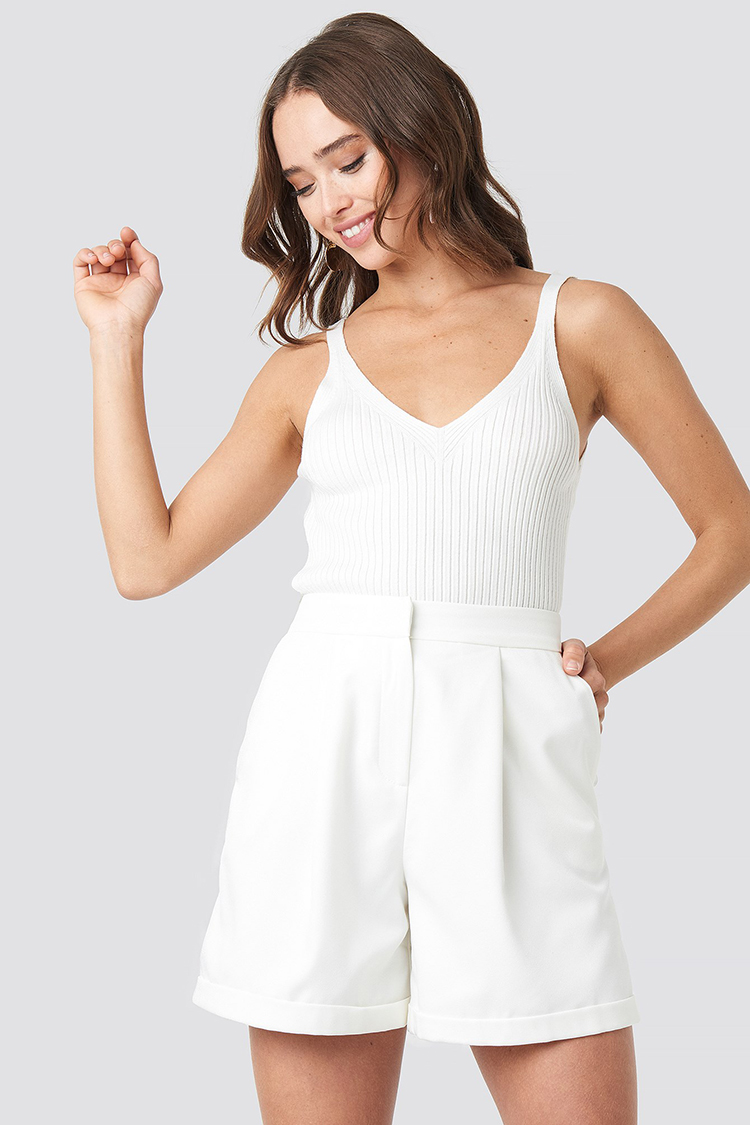 Smukke hvide shorts