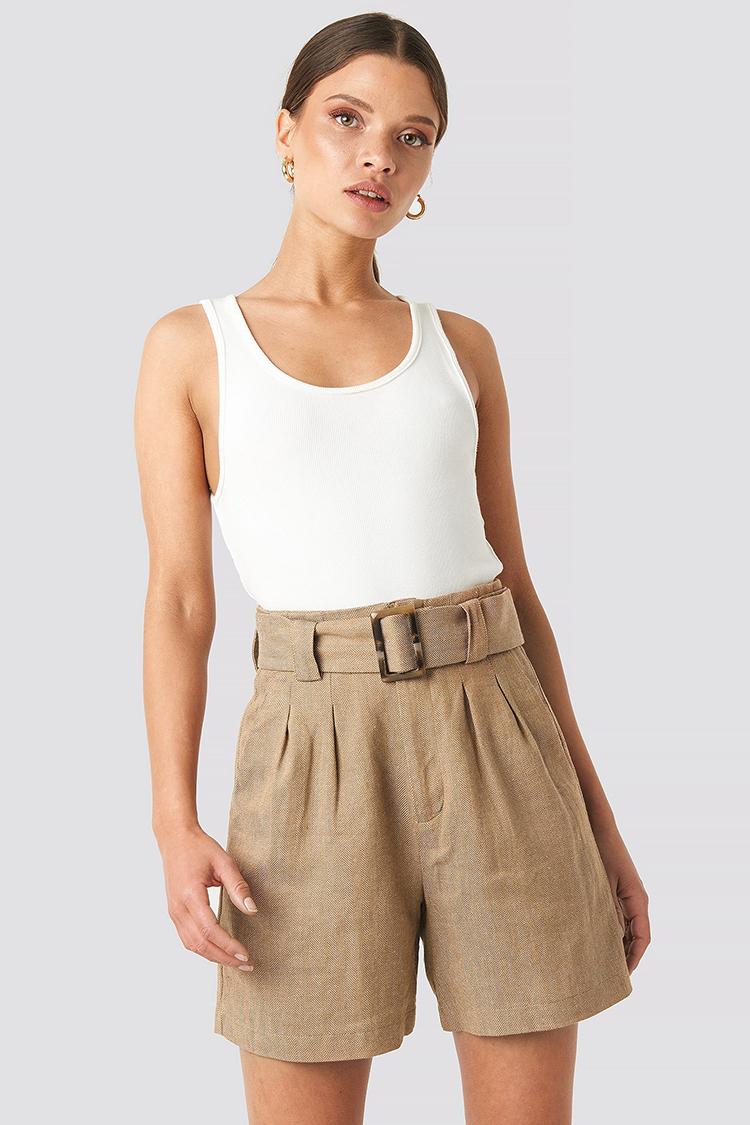 klassiske shorts med lækker detalje