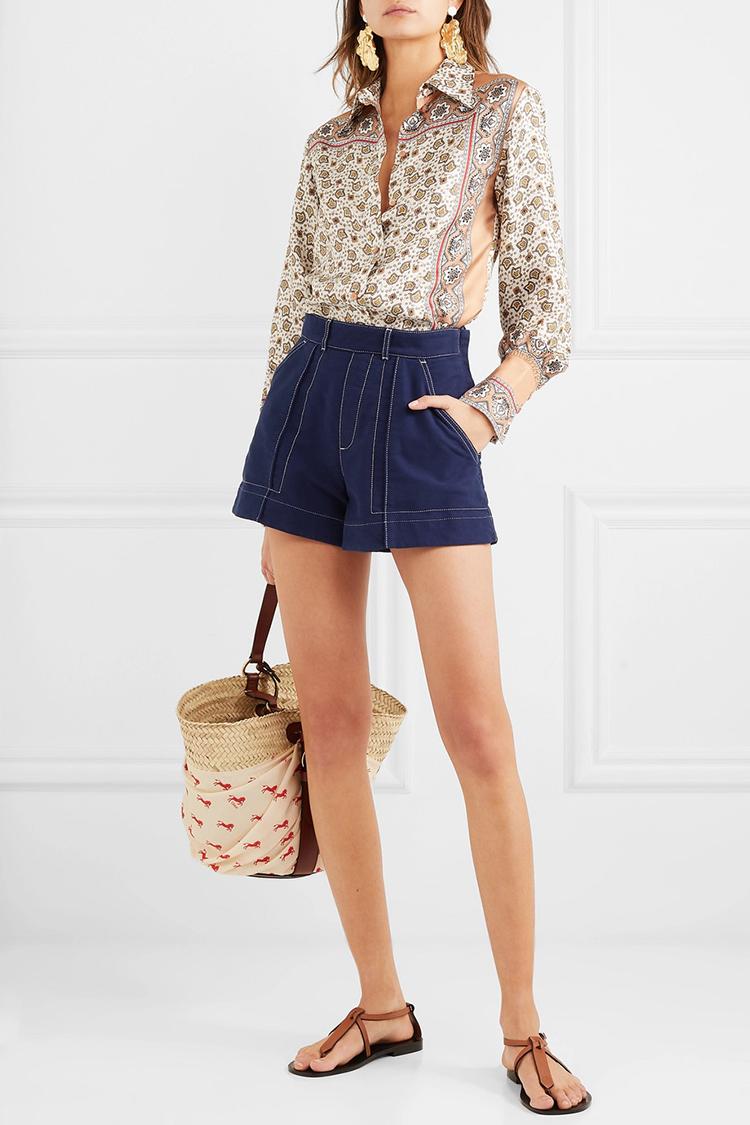 luksus shorts til kvinder