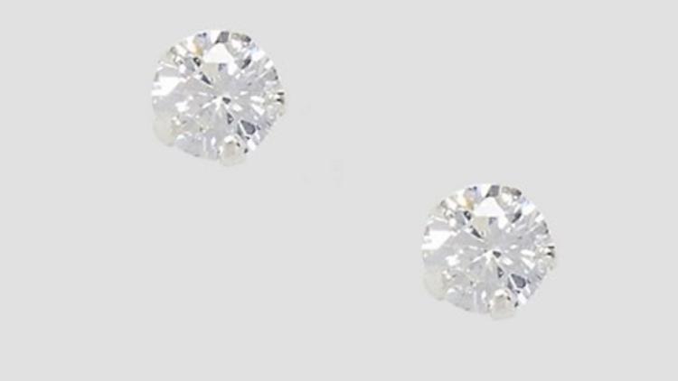 Billige diamantøreringe