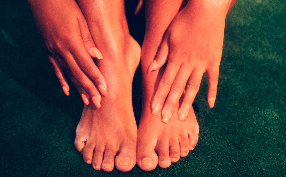 plej dine fødder inde stiletter