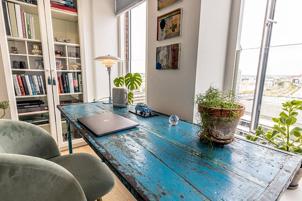 det blå bord
