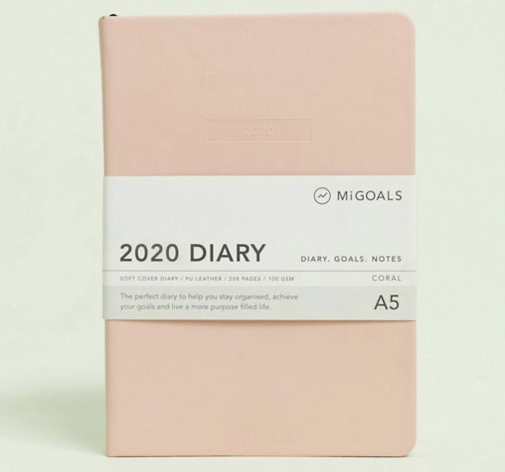Lækker lyserød kalender