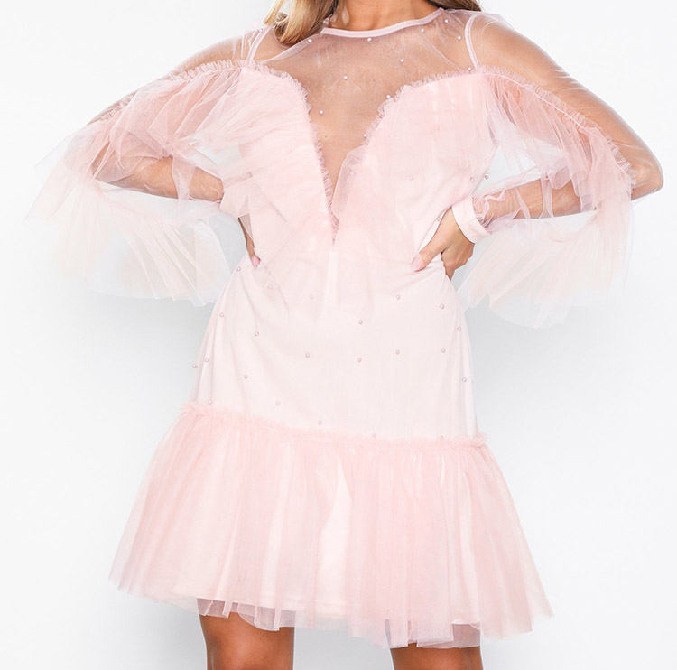 Nytårskjole i ægte barbie stil