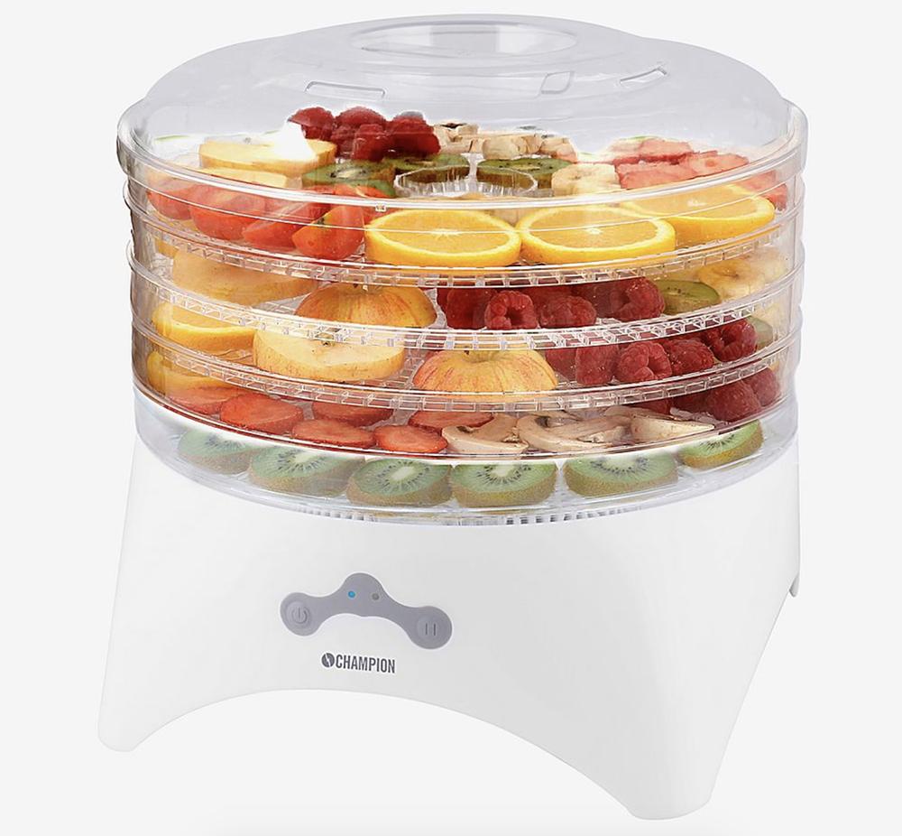 Tørremaskine til frugt og svampe