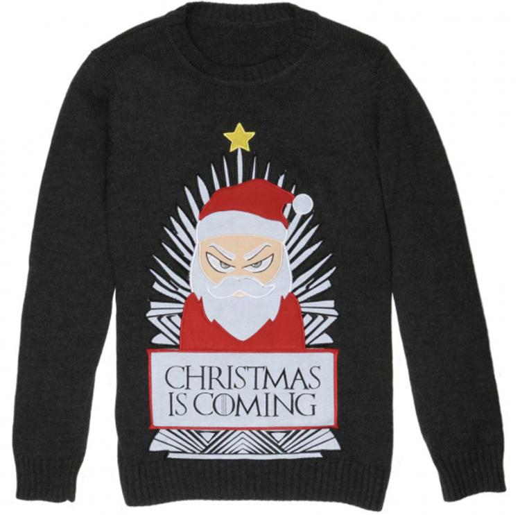 irriteret julemand juletrøje