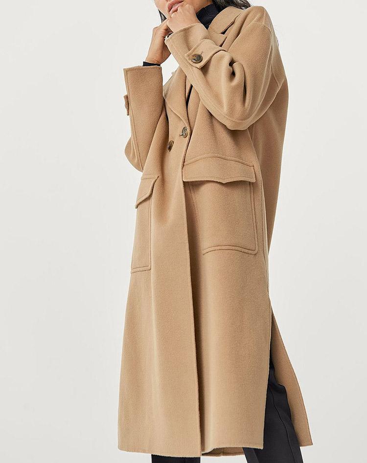 Klassisk frakke i høj kvalitet