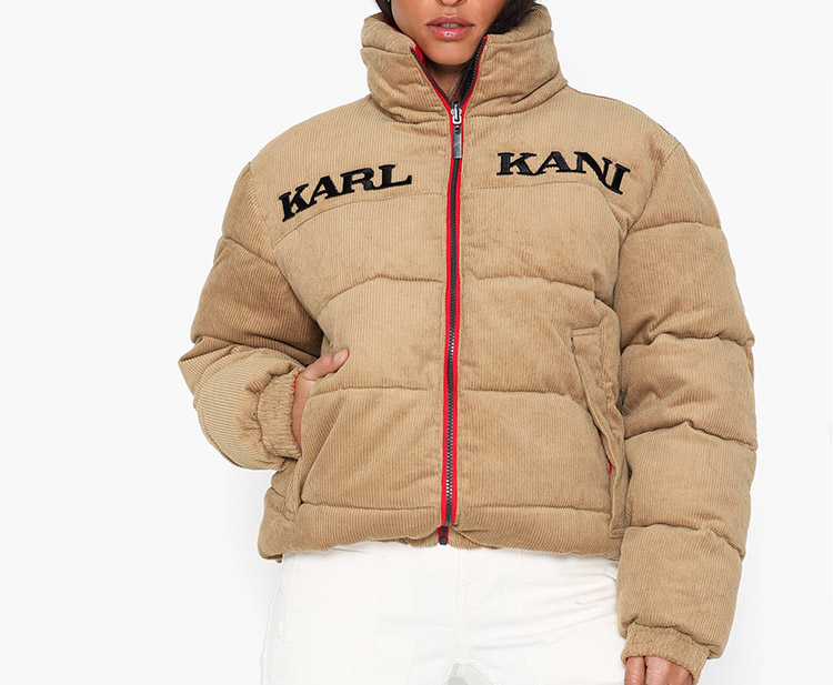 Vinterjakke til damer fra Karl Kani