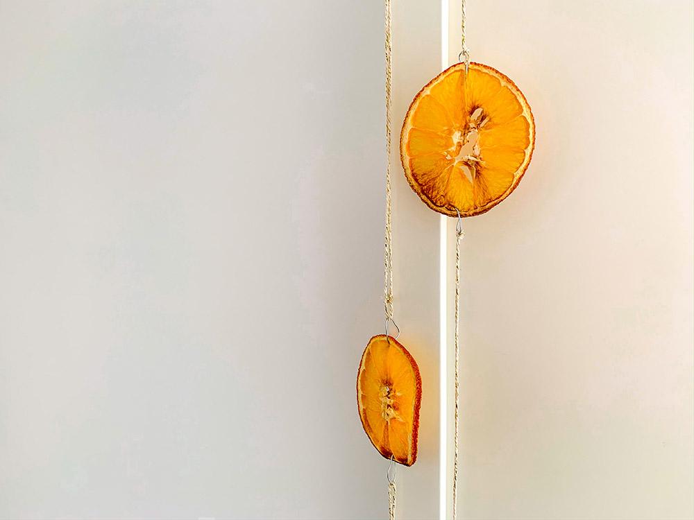 appelsin julepynt