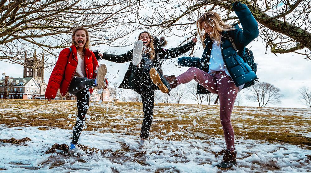 korte vinterjakker til damer
