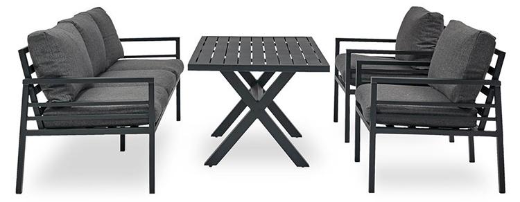 Behagelige lounge havemøbler i funktionelt design