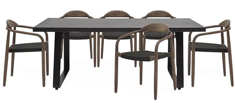 Flot gruppe af billige havemøbler i kvalitetspræget design