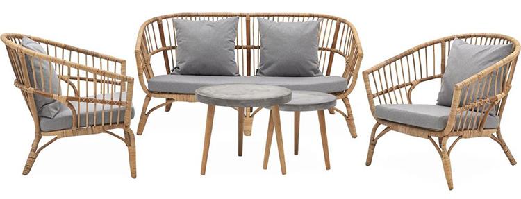 Lækkert og billigt loungesæt til haven