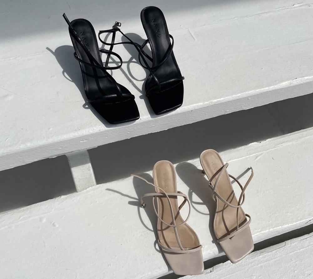 højhælede sandaler fra nakd