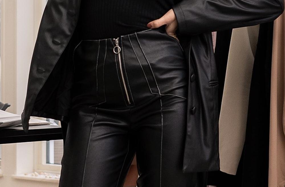 læderbukser til kvinder