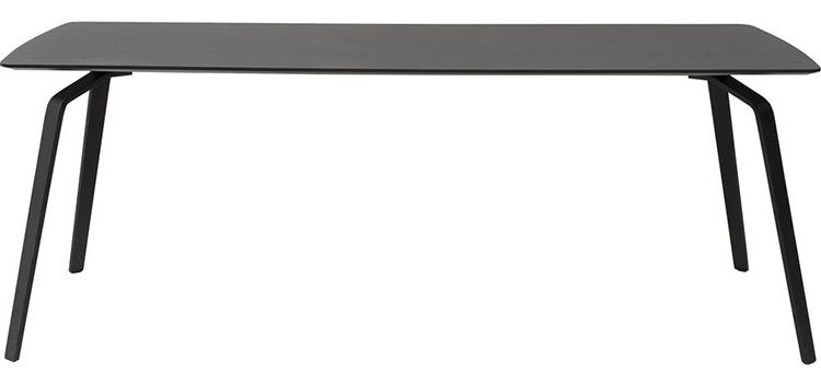 Klassisk og kunstnerisk spisebord i metal